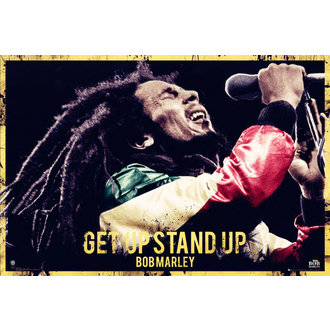 Poster Bob Marley - Get Up Stand Up - GB Posters - LP1581