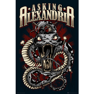Poster Asking Alexandria - Snake - GB Posters - LP1634