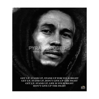 Poster - Bob Marley (Get Up, Stand Up) - MPP50072 - Pyramid Posters