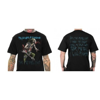Herren T-Shirt Malignant Tumour - THE METALLIST WITH GUITAR - MT008