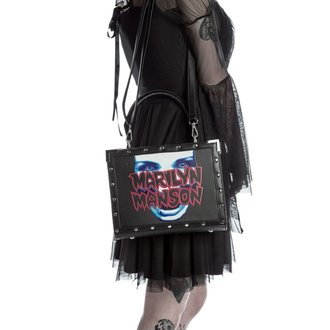 Handtasche KILLSTAR - MARILYN MANSON - My Metal - Schwarz, KILLSTAR, Marilyn Manson