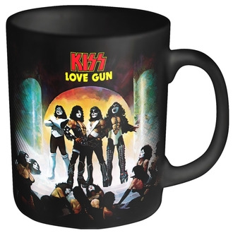 Tasse KISS - LOVE GUN - PLASTIC HEAD, PLASTIC HEAD, Kiss