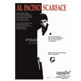 Posters Scarface (Movie One-Sheet) - PP30091 - Pyramid Posters