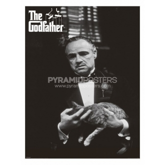 Posters - The Godfather (Cat B&W) - PP30526 - Pyramid Posters