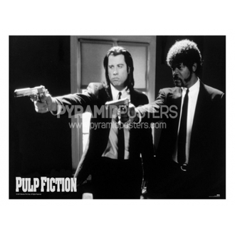 Posters - Pulp Fiction (B&W Guns) - PP31059 - Pyramid Posters
