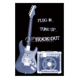 Poster Plug In ... Tune Up ... Rock Out - PP31159 - PYRAMID POSTERS