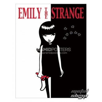Posters - Emily The Strange (Strange Face) - PP31523 - Pyramid Posters