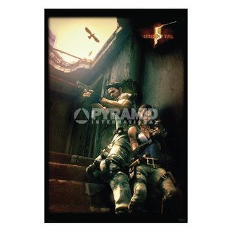 Poster Resident Evil 5 (Against A Wall) - PP31862 - PYRAMID POSTERS