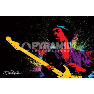 Poster Jimi Hendrix (Paint) - PYRAMID POSTERS - PP32166