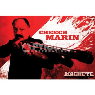 Poster Neca - Machete (Cheech) - PYRAMID POSTERS, PYRAMID POSTERS