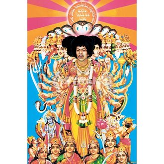 Poster Jimi Hendrix (Axis Bold As Love) - PYRAMID POSTERS