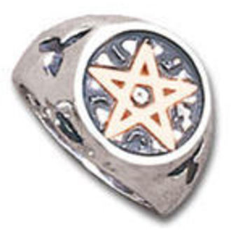 Ring Wealth Talisman ALCHEMY GOTHIC - R70