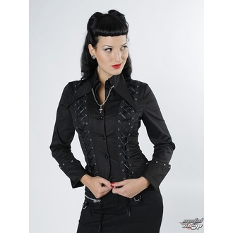 Damenbluse  Langarmshirt QUEEN OF DARKNESS SH12-229-08