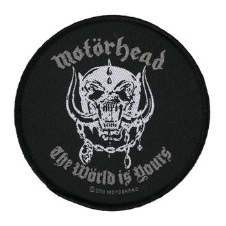 Aufnäher MOTÖRHEAD - THE WORLD IS YOURS - RAZAMATAZ, RAZAMATAZ, Motörhead