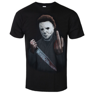 Herren T-Shirt Metal Halloween - MIDDLE FINGER - PLASTIC HEAD, PLASTIC HEAD, Halloween