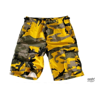 Shorts men US-BDU - Army - Yellow Camo