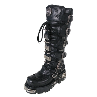 Schuhe NEW ROCK - High Vampire Boot (161-S1) Black - N-8-27-700-00