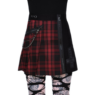 Damen Rock KILLSTAR - Calling Alice Mini Skirt - TARTAN, KILLSTAR
