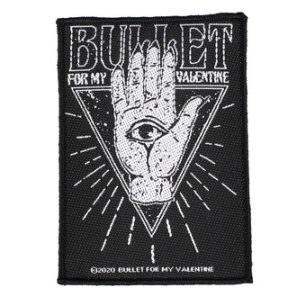 Patch Aufnäher Bullet For My Valentine - All Seeing Eye - RAZAMATAZ, RAZAMATAZ, Bullet For my Valentine