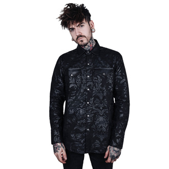 Herren Hemd KILLSTAR - Dark Ocean Button - SCHWARZ, KILLSTAR