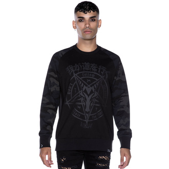 Unisex Sweatshirt KILLSTAR - Darkpaths Camo, KILLSTAR