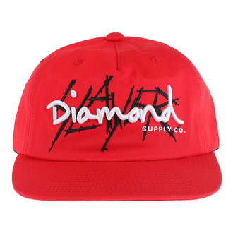 Kappe Cap SLAYER - DIAMOND - Unstrukturiert - Rot, DIAMOND, Slayer