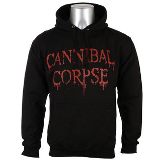 Herren Hoodie Cannibal Corpse - DRIPPING LOGO - PLASTIC HEAD, PLASTIC HEAD, Cannibal Corpse