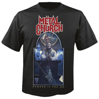 Herren T-Shirt METAL CHURCH - Damned if you do - NUCLEAR BLAST, NUCLEAR BLAST, Metal Church