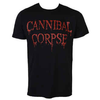 Herren T-Shirt Metal Cannibal Corpse - DRIPPING LOGO - PLASTIC HEAD, PLASTIC HEAD, Cannibal Corpse