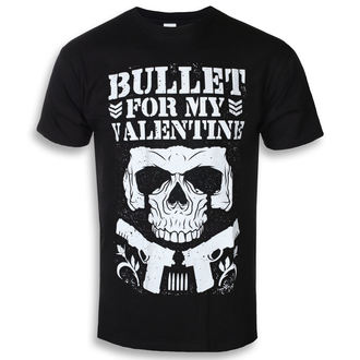 Heren T-Shirt Metal Bullet For my Valentine - Club - ROCK OFF, ROCK OFF, Bullet For my Valentine