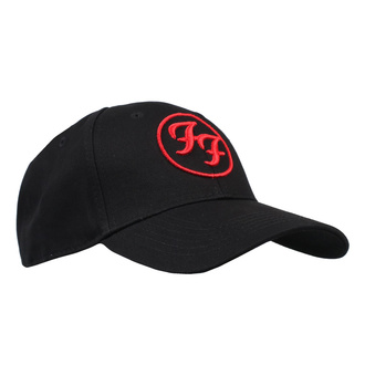 Kappe Foo Fighters - Red Circle Logo - ROCK OFF, ROCK OFF, Foo Fighters