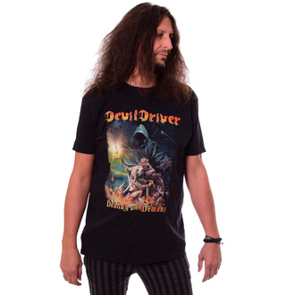 Herren T-Shirt DEVILDRIVER - Dealing With Demons - NAPALM RECORDS, NAPALM RECORDS, Devildriver