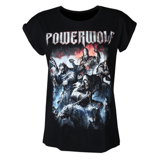 Damen T-Shirt POWERWOLF - Best of the blessed - NUCLEAR BLAST, NUCLEAR BLAST, Powerwolf