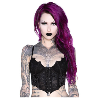 Damenkorsett KILLSTAR - Fang Lace, KILLSTAR