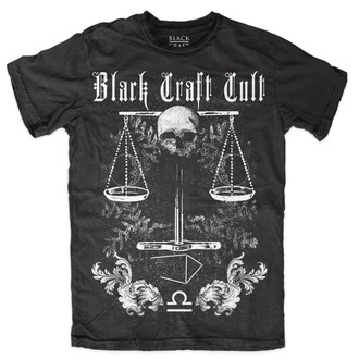 Herren T-Shirt - Libra - BLACK CRAFT, BLACK CRAFT