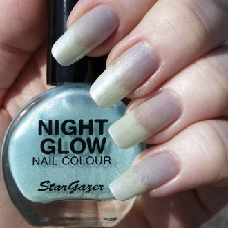 Nagellack STAR GAZER - Glow In The Dark - Glow Jade, STAR GAZER