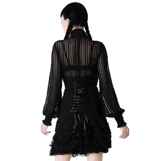 Damen Rock KILLSTAR - Nora Bones Ruffle, KILLSTAR