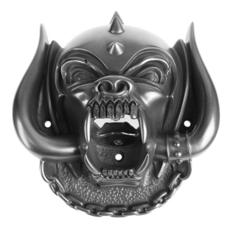 Wandflaschenöffner Motörhead - Snaggletooth (Gun Metal Finish) - BEER BUDDIES, BEER BUDDIES, Motörhead