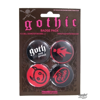 Button Gothic - BP80099 - Pyramid Posters