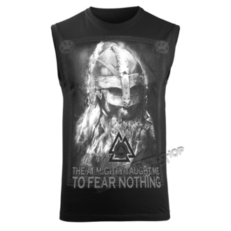 Herren Tanktop VICTORY OR VALHALLA - THE ALMIGHTY TAUGHT ME TO FEAR NOTHING, VICTORY OR VALHALLA