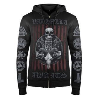 Herren Hoodie VICTORY OR VALHALLA - VIKING SHIELD, VICTORY OR VALHALLA
