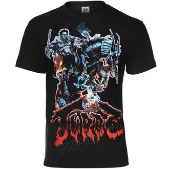 Herren T-Shirt Metal Turbo - LAST WARRIOR - CARTON, CARTON, Turbo