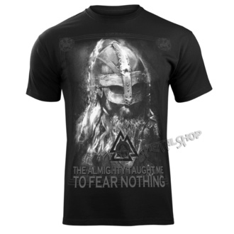 Herren T-Shirt - THE ALMIGHTY TAUGHT ME TO FEAR NOTHING - VICTORY OR VALHALLA, VICTORY OR VALHALLA