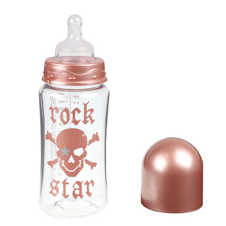 Babyflasche ROCK STAR BABY - ROSE PIRAT 300ml, ROCK STAR BABY