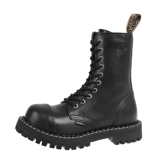 Winter Shuhe Boots STEEL - 10-Loch- schwarz, STEEL