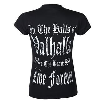 Damen T-Shirt VICTORY OR VALHALLA - THOR'S HAMMER, VICTORY OR VALHALLA