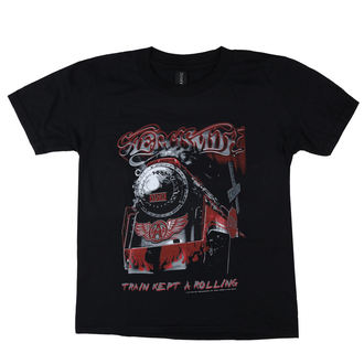 Kinder T-Shirt Metal Aerosmith - Train kept a going - LOW FREQUENCY, LOW FREQUENCY, Aerosmith