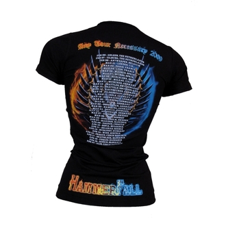 Damen T-Shirt  Hammerfall - Any Tour Means Necessary - 159238