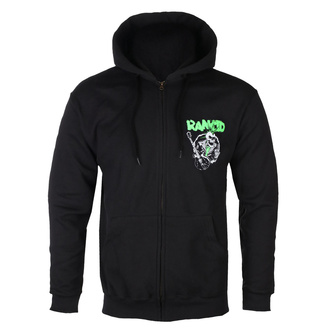 Herren Kapuzenpullover Rancid - SkeleTim Guitar - Schwarz, KINGS ROAD, Rancid