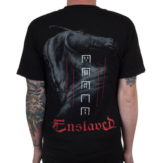 Herren T-Shirt Metal Enslaved - Horse - INDIEMERCH, INDIEMERCH, Enslaved